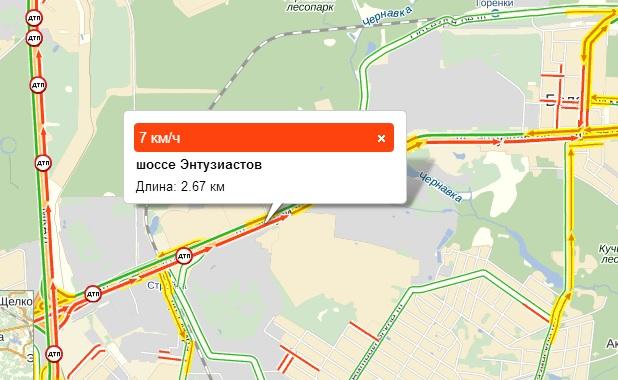 Яндекс пробки м7 владимир москва лакинск - c3