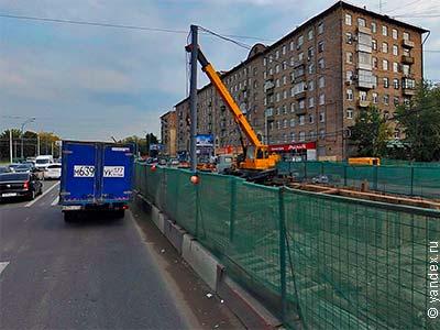 Реконструкция шоссе энтузиастов завершится к новому году.